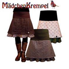Nähanleitungen Mode - ebook Rock Hüftrock Größe 34 bis 52 - ein Designerstück von Maedchenkrempel bei DaWanda