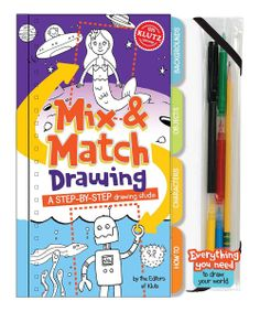 ooh, what a great stocking stuffer! Klutz Mix & Match Drawing Hardcover Kit on sale at Zulily for $12.99.