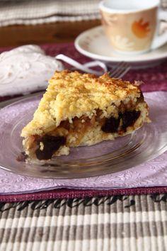 svestkovy-jahelnik Dairy Free Recipes, Raw Food Recipes, Apple Pie, Free Food, Sweet Tooth, Food And Drink, Gluten, Cake, Fit