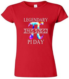 Legendary Pi Day Tie Dye Women's Junior Fit T-Shirt