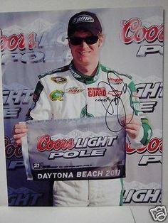 Autographed Earnhardt Jr. Photograph - Jr. #88 Coors Light Pole Pic - Autographed NASCAR Photos by Sports Memorabilia. $69.00. DALE EARNHARDT JR. #88 COORS LIGHT POLE AUTOGRAPHED PIC. Save 14% Off!