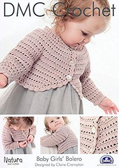 Resultado de imagen de free crochet patterns for baby bolero