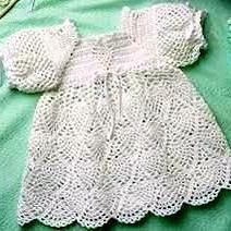 Crochet Dresses Design Whipped Cream Dress to Crochet for Baby ePattern - Number of Designs: 1 baby dress Approximate Design Size: Size 12 to 18 months Designer: C. Crochet Baby Dress Pattern, Bag Crochet, Crochet Girls, Crochet Baby Clothes, Crochet For Kids, Crochet Crafts, Crochet Projects, Crochet Patterns, Pattern Dress