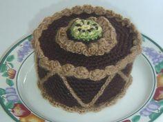 Más tartas de amigurumi | Klart Kraft