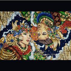 Let's color love by Nick Filbert 💙💚💛 #fantasia  #fantasiacoloringbook  #nickfilbert #letscolorloveartwork #letscolorlove  #nicholasfchandrawienata  #arte_e_colorir #shadyas  #bayan_boyan #prazeremcolorir #boracolorirtop #colorindolivrostop #desenhoscolorir  #creativelycoloring #coloring_secrets  #divasdasartes #nossojardimcolorido  #beautifulcoloring #zenartis #livrocoloriramo #colorearte #fangcolourfulworld #colorirlove #coloringtoolkit #desafioscoloridos #topcoloridos #artecomoterapia