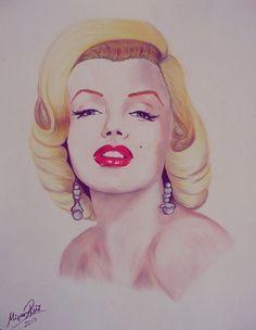 Marilyn Monroe by MimiRuiz on deviantART  | This image first pinned to Marilyn Monroe Art board, here: http://pinterest.com/fairbanksgrafix/marilyn-monroe-art/ || #Art #MarilynMonroe