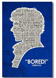 Sherlock Holmes John Watson Classic Fashion Movie Style Custom FREE SHIPPING Poster Print Size(40x60)cm Wall Sticker U0239892056