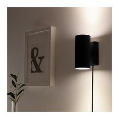 NYMÅNE Up-/downlight væg fast inst - antracit - IKEA. Til trappen Ikea Wall Lights, Plug In Wall Lights, Ikea Lighting, Plug In Wall Sconce, Bedroom Lighting, Wall Sconces, Wall Lamps, Ikea Wall Lamp, Wall Lighting