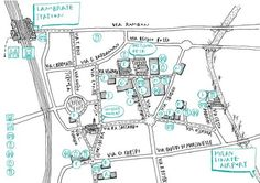 Ventura Lambrate 2015 map. MATERIALL will be present at Ventura 14 located at Via Ventura 14
