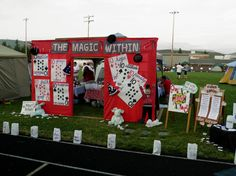 """Relay for Life Themes   This Relay For Life team addressed the theme """"The Magic of Relay"""" by ..."""