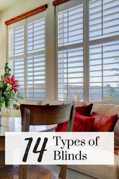 Living Room Window Blinds Luxury 14 Different Types Of Blinds for 2020 Extensive Buying Guide Cheap Blinds For Windows, Blinds For Windows Living Rooms, Blinds For French Doors, Bay Window Blinds, Curtains With Blinds, Window Valances, Door Curtains, Types Of Blinds, Shades Blinds