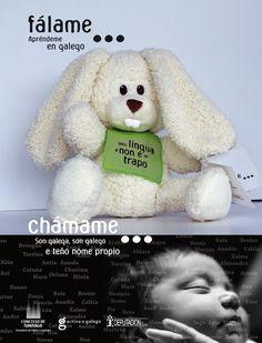 [Departamento de Lingua Galega do Concello de Santiago, 2007] Teddy Bear, Nail, Infancy, Santiago, Teddy Bears, Teddybear