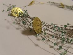 Maria Rosa Franzin : detail of a necklace