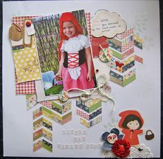 SCRAPPING JOY: Little Red Riding Hood