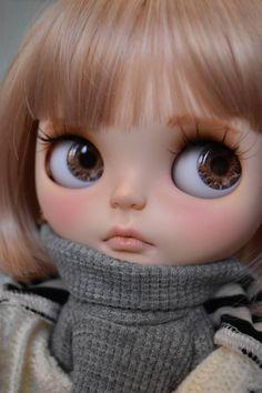 ★神樂by kozue★カスタムブライスcustom blythe ... - ヤフオク! Blythe Dolls, Ooak Dolls, Barbie Dolls, Pretty Dolls, Cute Dolls, Beautiful Dolls, Disney Animator Doll, Silicone Baby Dolls, Lovely Creatures