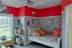 20 Amazing Kids Rooms With Two-Tone Walls To Get Inspired | Kidsomania