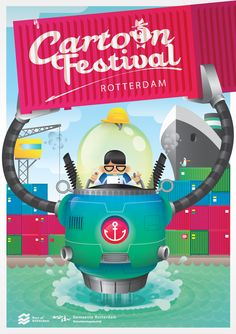 Cartoon Festival Rotterdam - Portfolio Robert Keukelaar