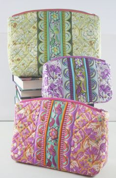 Filigree Double-Zip Pouches - Sew Sweetness