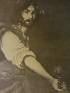 Charles Manson.  Picture made at Spahn Ranch, delivered to the L.A. Free Press by Brenda McCann (Gold).  Looks like Keanu Reeves to me.