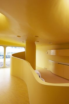 childcare facilities interior - boulay france - paul le quernec