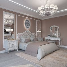 Breathtaking 84 Cozy And Easy Classic Bedroom Decor Ideas That You Can Try ASAP classic home decor Home Decor Bedroom, Interior Design Bedroom, Master Bedrooms Decor, Classic Bedroom Decor, Bedroom Decor, Minimalist Bedroom, Classic Bedroom, Modern Bedroom, Luxurious Bedrooms