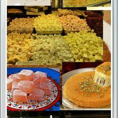 Istanbul#turkishsweets #love #fun#delicious#food#inlove#Mado#lokum#baklawa#awesometrip☺