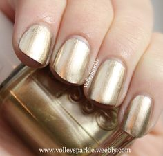 Essie Good As Gold Nail Lacquer | Review & Swatches
