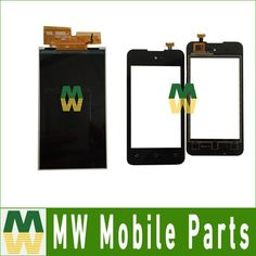 High Quality 1PC/Lot  For Wiko Sunny  LCD Display Screen And Touch Screen Digitizer Replacement Parts  #Affiliate