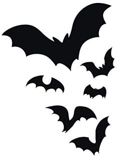 Bat Flying, Car Magnets, Flocking, Bumper Stickers, Vinyl Decals, Colonial, Boat, Night, Outdoor