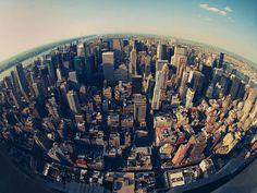New york city skyline,