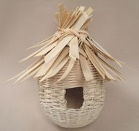 Woven Bird House Pattern by Wagner http://catalog.countryseat.com/wovenbirdhousepattern-bywagner.aspx