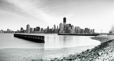 Manhattan downtown skyline featuring One WTC. Photo of 5 vertically clicked images stitched together. Shot with Canon 5D Mark III 50mm 1.8