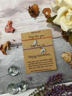 Double Halloween Wish Bracelet Halloween Bracelet Halloween · Halloween  JewelryHalloween GiftsHalloween WitchesHappy ...