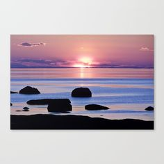 New, True Beauty at the Sea  https://society6.com/product/saint-lawrence-river-sunset_stretched-canvas?curator=danbytheseacurator This photo is Available on over 20 products  Follow DanByTheSea  https://society6.com/danbythesea #society6 #danbythesea 15% OFF + FREE WORLDWIDE SHIPPING ON EVERYTHING - SHOP MOTHER'S DAY GIFT IDEAS