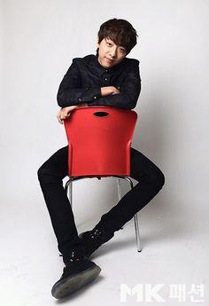 Lee Jungshin, Man In Black for MK Fashion