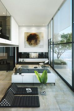 #interior #design #white #gray #black #details #colors #home #sweet #home #view