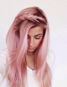 Baby Pink Hair Chalk - Salon Grade - Temporary - Non-Toxic by GypseaPeach on Etsy https://www.etsy.com/uk/listing/262242525/baby-pink-hair-chalk-salon-grade