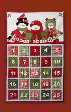 In this lesson, Crafty Gemini guides you through the steps to sewing your very own fabric advent calendar using a basic panel and sewing materials.