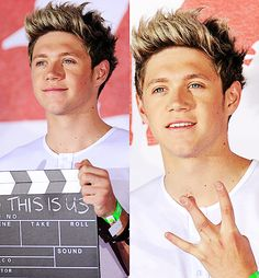 Niall...the second pic is the closest we're gonna get to seeing Niall go thug....