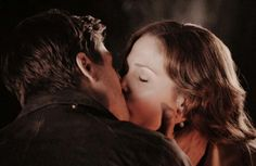 Jack and Elizabeth kiss. When calls the heart. Season 2 finale. Finally!!!