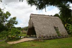 Oahu Photos at Frommer's - Ancient Hawaiian house at Hawaii's Plantation Village, Waipahu.