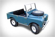 MINIATURA LAND ROVER TOYLANDER Toylander é um carro eléctrico com metade do tamanho com base na primeira série Land Rover!