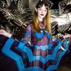 Willow! #marykatrantzou #aw16 #americana #cowboysandprincesses #butterfly ⭐️⭐️
