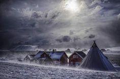 Village de pêcheurs, Norvège, par Alain Barbezat / Communauté GEORetrouvez d'autres photos de ce membre