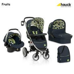 Hauck Malibu XL All in One Pram and Pushchair Travel System - Fruits -  prams   pushchairs - Mothercare 2923518c6f