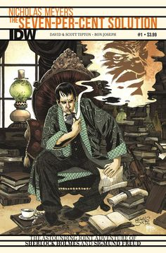 The best-selling Sherlock Holmes novel by writer/director Nicholas Meyer comes to comics! The real story behind Sherlock Holmes' final confrontation with Professor Moriarty is at long last revealed! W