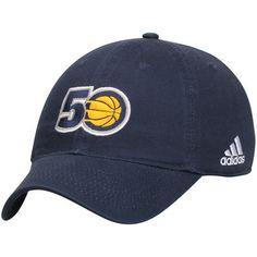 fa2bbd27a97 Indiana Pacers adidas Anniversary Adjustable Hat - Navy. Adidas MenCaps  HatsIndiana ...