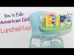 How to make American Girl Lunchables & Capri Sun - YouTube