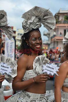 Les belles du Mercredi des Cendres - Carnaval de la Martinique 2016 -