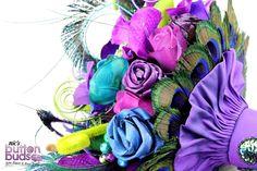 Wedding Brooch Bouquet - Nic's Button Buds